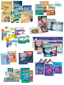 Core Curriculum Solution: High School 9 Complete Curricula