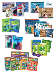 Core Curriculum Solution: Middle School 7 Complete Curricula
