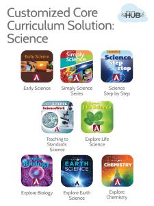 Custom Science Solution