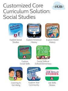 Custom Social Studies Solution