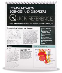 Quick Reference in Communication Sciences and Disorders