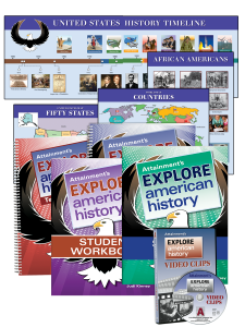 Explore American History Curriculum package