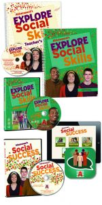 Explore Social Skills Student Book, Teacher's Manual, DVD, Software, and iPad App