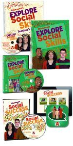 Explore Social Skills Student Book, Teacher's Manual, DVD, Software, and iPad App