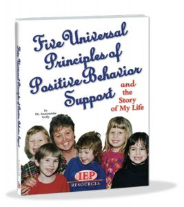 Five Universal Principles of Positive Behavior Support
