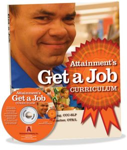 Get a Job Curriculum Book and PDF CD