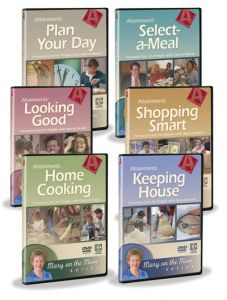 Mary on the Move Series DVDs