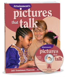 Pictures that Talk Book with CD