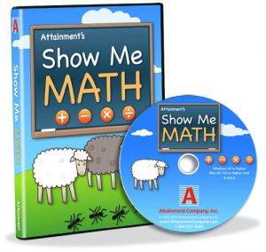 Show Me Math case with CD