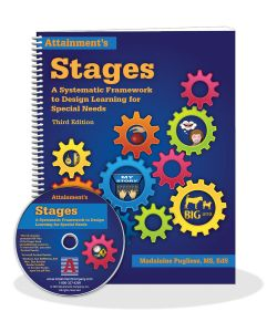 Stages Book with PDF disk