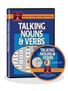 Talking Nouns and Verbs Software