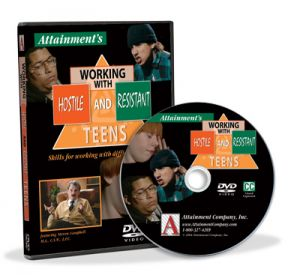 Working with Hostile & Resistant Teens DVD
