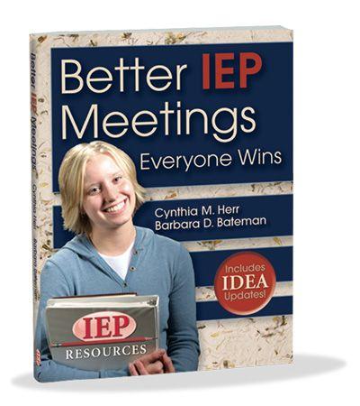 Better IEP Meetings