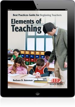 Elements of Teaching eBook