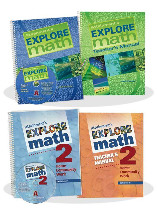 Explore Math and Explore Math 2