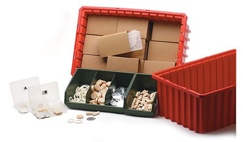 Four-Compartment Packaging