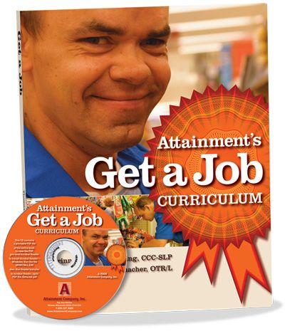 Get a Job Curriculum Book and PDF CD