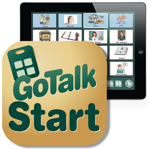GoTalk Start iPad app