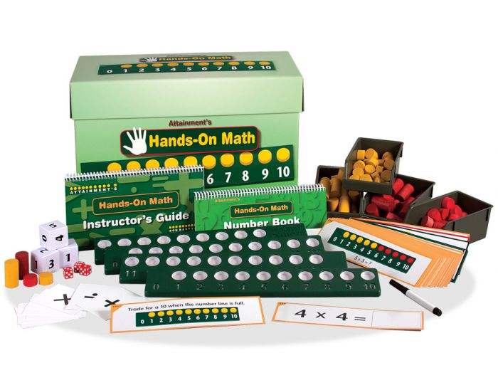 Hands-on Math box with full program