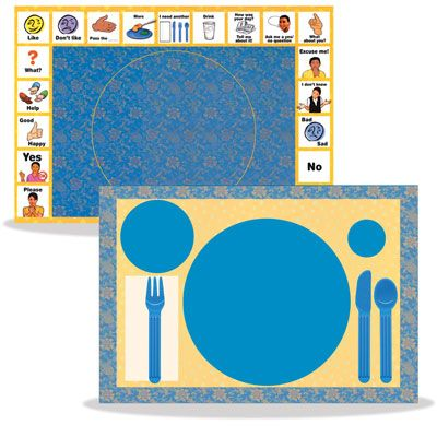 Illustrated Placemats