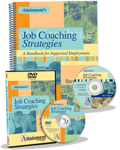 Job Coaching Strategies Book and DVD