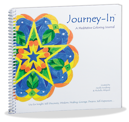 Journey-In Coloring Journal