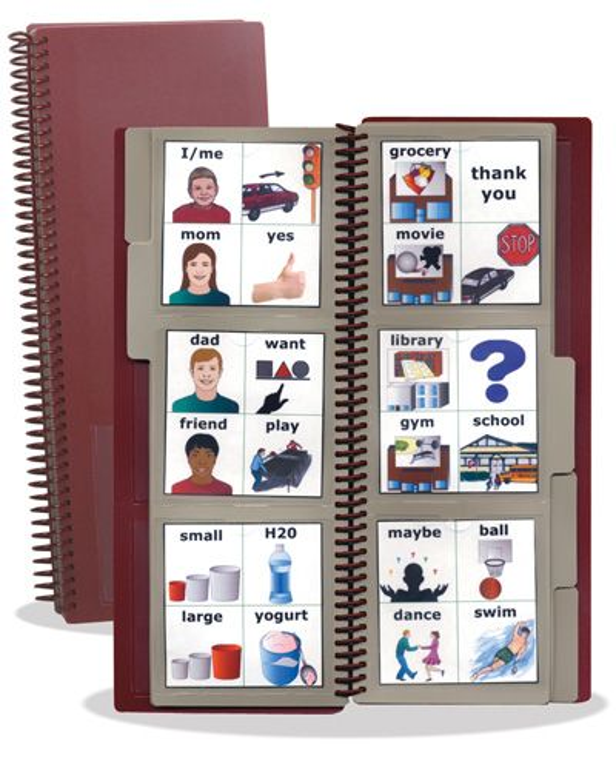 Large Communication Book