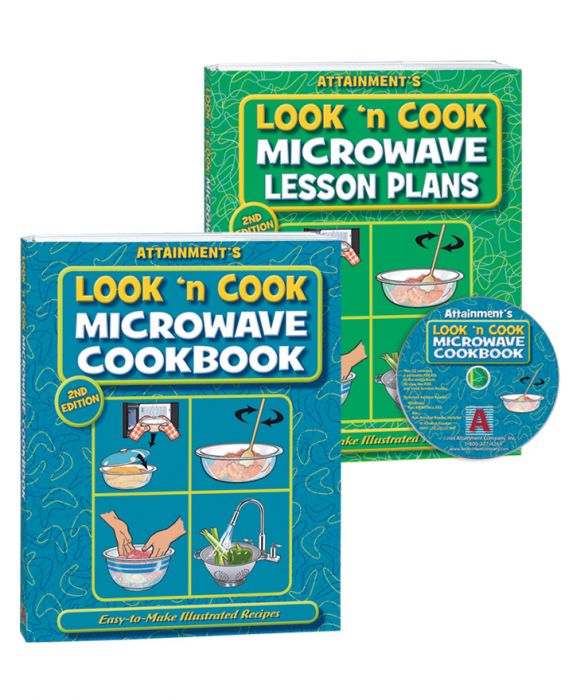 Look 'n Cook Microwave Cookbook