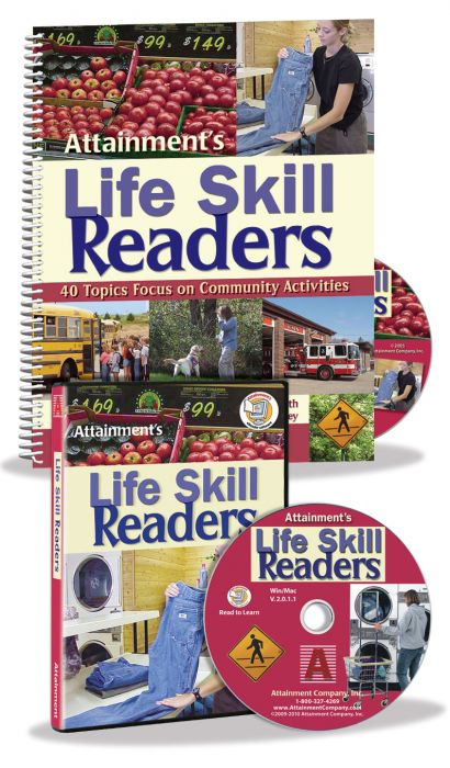 Life Skill Readers – Book, PDF CD, and eReader Software