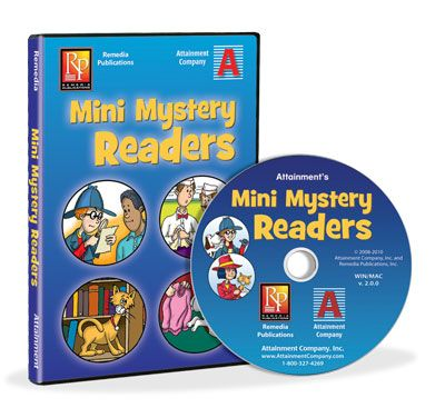 Mini Mystery Readers Software