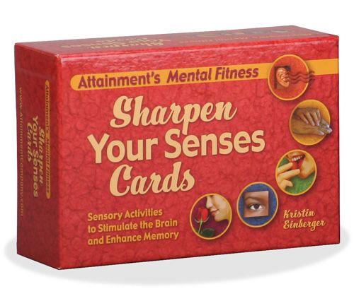 Sharpen Your Senses Cards box