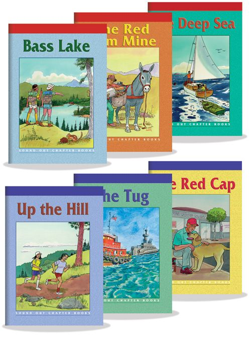 Sound Out Chapter Books, Levels 1 and 2