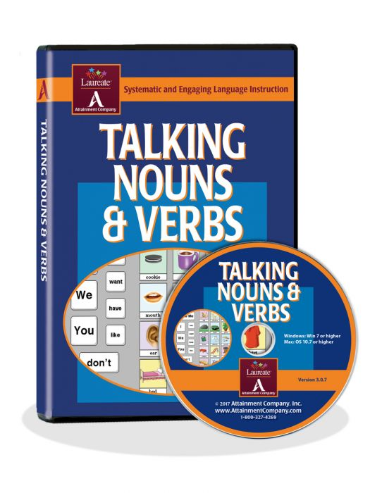 Talking Nouns and Verbs Software