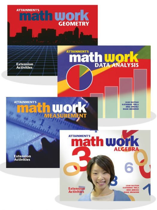 Math Extension Activity Books