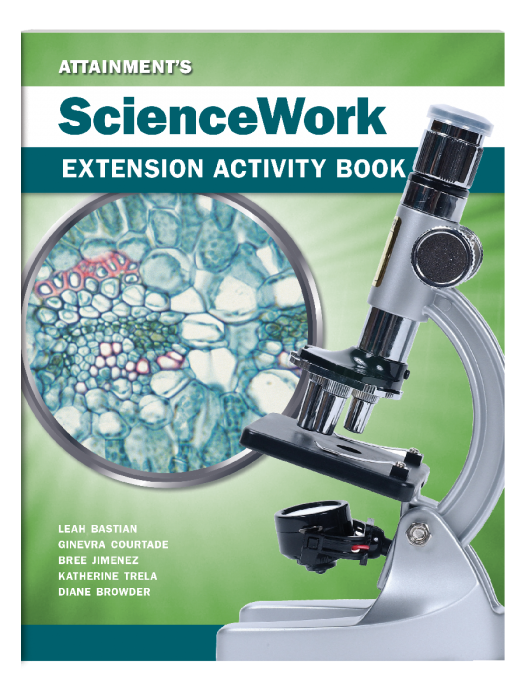 ScienceWork Extension Activity Book - 10 Pack