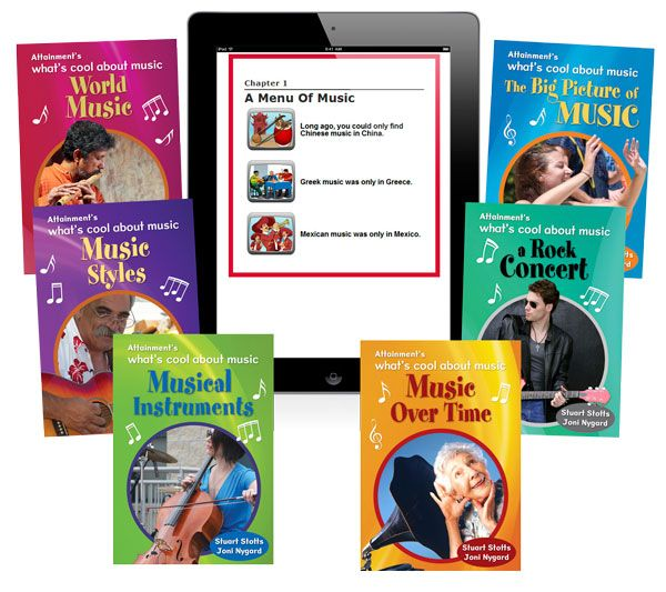 What's Cool About Music eBook Volumes