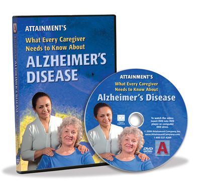 Alzheimer's Disease DVD - Case with CD