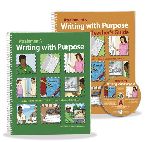 Writing with Purpose Student Book and Teacher's Guide
