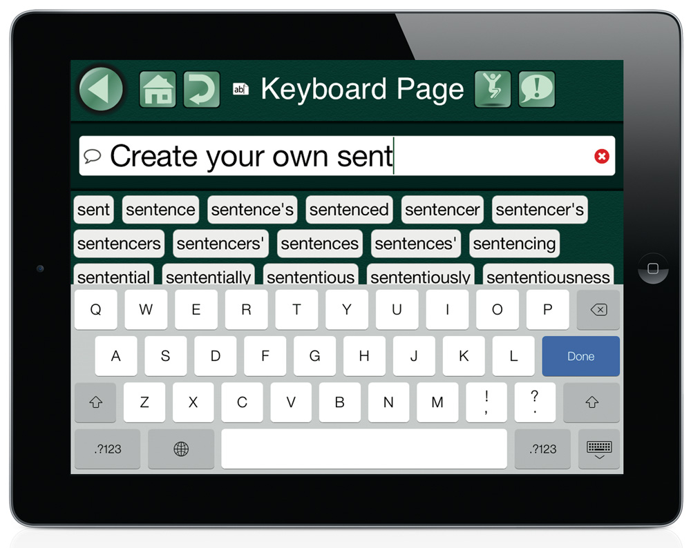 GoTalk NOW Keyboard