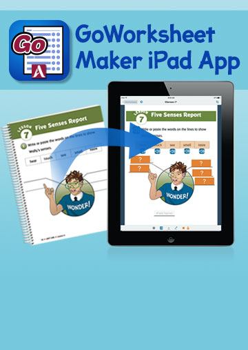 GoWorksheet iPad App