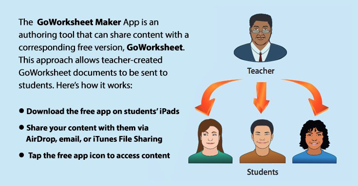 GoWorksheet Maker iPad App